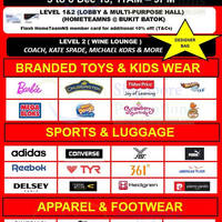 Read more about Mega Warehouse SALE Up to 80% OFF @ HomeTeamNS Bukit Batok 5 - 8 Dec 2013