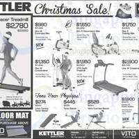 Read more about Kettler Exercise Machines & Gym Equipment Offers 13 Dec 2013