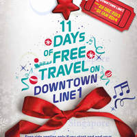 Read more about Singapore Downtown MRT Line FREE All-Day Travel Promo 22 Dec 2013 - 1 Jan 2014