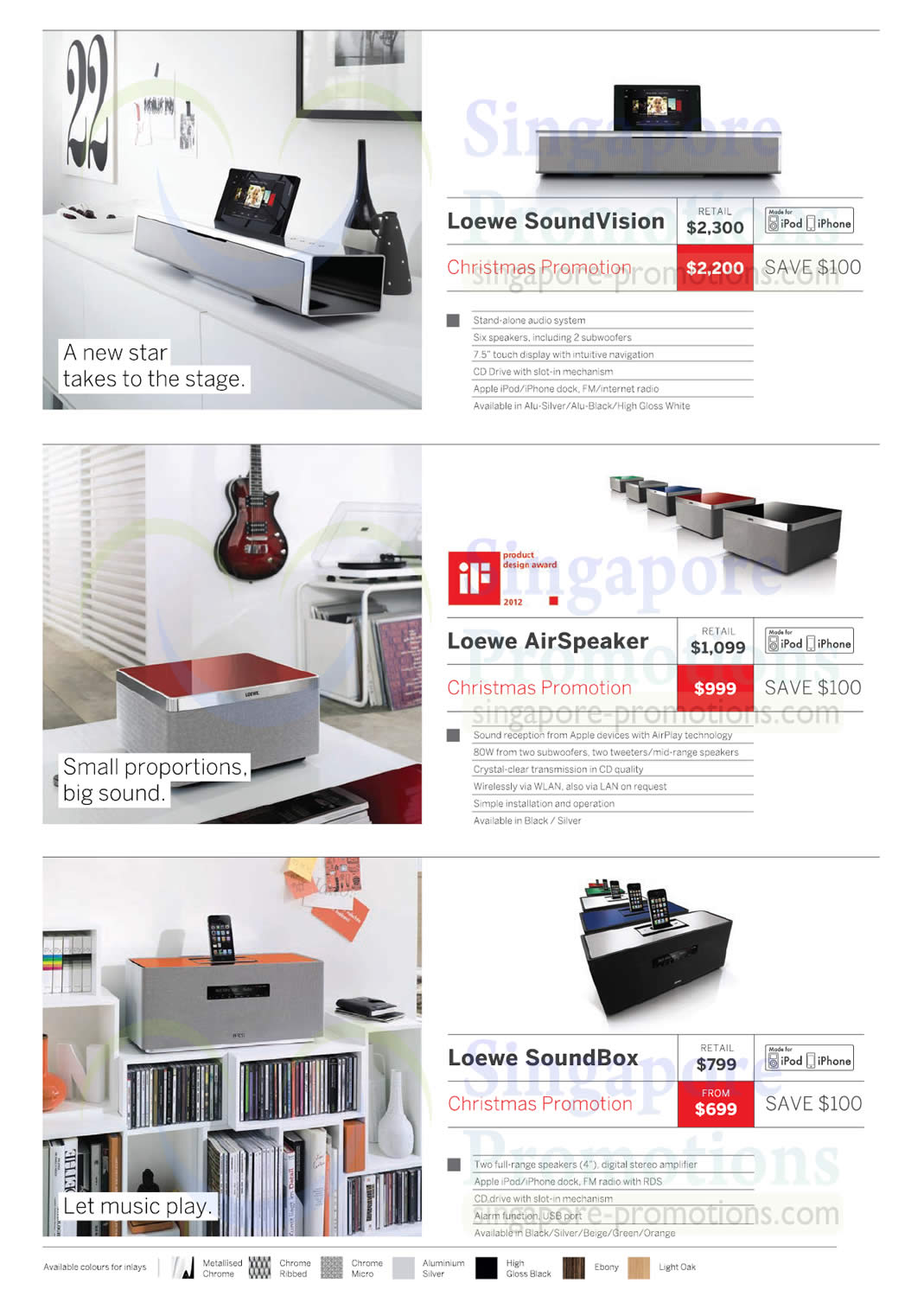 loewe soundvision airspeaker soundbox atlas bose loewe audio visual systems price list 6. Black Bedroom Furniture Sets. Home Design Ideas