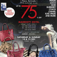 Read more about LovethatBag Branded Handbags Sale Up To 75% Off @ Marriott Hotel 14 - 15 Dec 2013