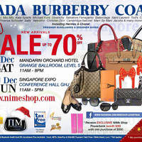 Read more about Nimeshop Branded Handbags, Sunglasses & Footwear Sale Up To 70% Off 21 - 22 Dec 2013