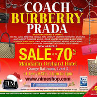 Read more about Nimeshop Branded Handbags, Sunglasses & Footwear Sale Up To 70% Off @ Mandarin Orchard 14 Dec 2013