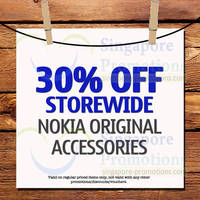 Read more about Nokia 30% OFF Original Accessories Promo 13 Nov 2013