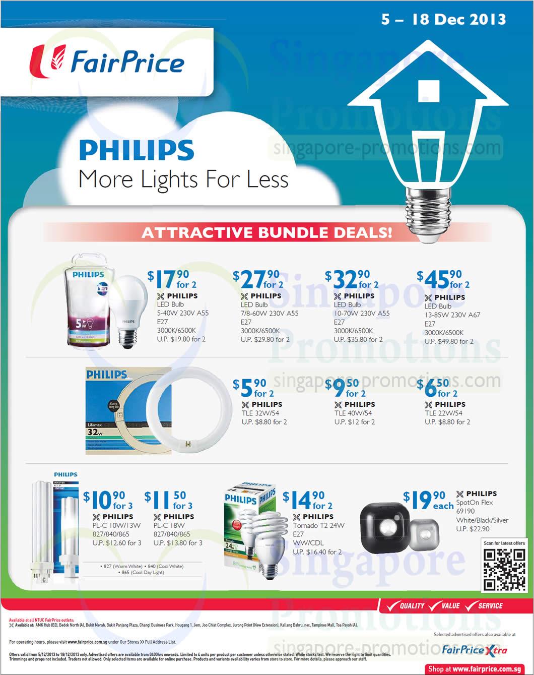Philips LED Bulbs, Other Bulbs, Bundle Deals