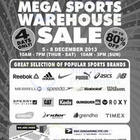 Read more about Royal Sporting House Up To 80% OFF Warehouse SALE @ Wisma Gulab 5 - 8 Dec 2013