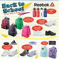 Read more about Royal Sporting House Back To School Promo 12 Dec 2013 - 5 Jan 2014