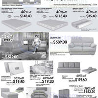 Read more about Sea Horse Furniture Promo Offers 17 Dec 2013 - 2 Jan 2014