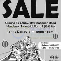 Read more about Siang Hoa Jewellery Warehouse SALE @ Henderson Industrial Park 13 - 15 Dec 2013