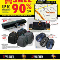 Read more about SonicGear Warehouse SALE Up To 90% OFF 5 - 7 Dec 2013