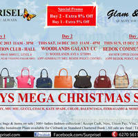 Read more about Surprisel Branded Handbags Sale Up To 75% Off 13 - 15 Dec 2013
