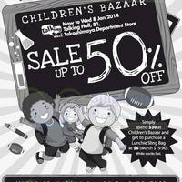Read more about Takashimaya Children's Bazaar Up To 50% OFF SALE 27 Dec 2013 - 8 Jan 2014