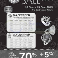 Read more about TianPo Jewellery Up To 70% OFF Best of 2013 SALE @ Centrepoint 13 - 19 Dec 2013