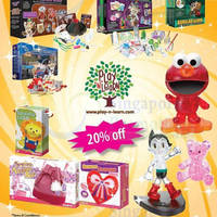Read more about Times Bookstores 20% OFF Selected Toys & Games Promo 1 - 31 Dec 2013