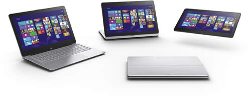 VAIO Fit 13A Silver