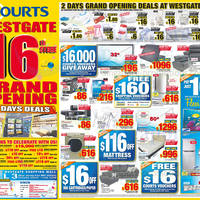 Read more about Courts 16th Store Grand Opening Celebration Deals @ Islandwide 14 - 15 Dec 2013
