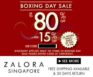 Zalora Boxing 24 Dec 2013