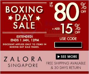 Zalora Boxing Extended 24 Dec 2013