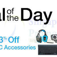 Read more about Amazon Up to 63% OFF Logitech PC Accessories Promo 20 - 21 Jan 2014