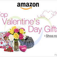 Read more about Amazon.com Valentine's Day Gifts Offers 26 Jan - 14 Feb 2014
