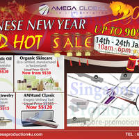 Read more about Amega Global Up To 90% OFF CNY SALE Weekdays @ The Octagon 14 - 24 Jan 2014
