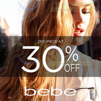 Read more about Bebe 30% OFF 2nd Piece Promo 27 - 30 Jan 2014