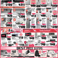 Read more about Best Denki Audio Visual, Appliances & Other Electronics Offers 24 - 27 Jan 2014