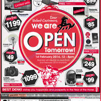 Read more about Best Denki Appliances & Other Electronics Offers 1 - 3 Feb 2014