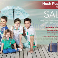 Read more about Hush Puppies SALE @ Changi City Point 20 - 26 Jan 2014
