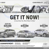 Read more about Chevrolet Orlando, Cruze, Captiva & Malibu Offers 18 Jan 2014