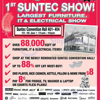 Read more about Courts Suntec Show @ Suntec Convention Centre 10 - 12 Jan 2014