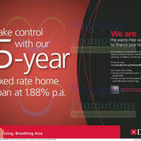 Read more about DBS 5 Year 1.88% p.a. Fixed Rate Home Loan 12 Jan 2014