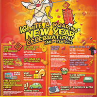 Read more about Downtown East Chinese New Year Promotions & Activities 2 Jan - 28 Feb 2014