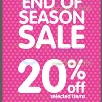 Read more about Early Learning Centre Up To 20% OFF End of Season SALE 9 Jan 2014