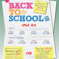 Read more about Epicentre iPad Air Back To School Promo @ Bugis Junction 4 - 16 Jan 2014
