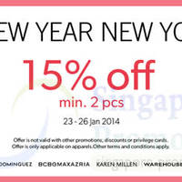 Read more about F3 Elite Brands (Wallis, Karen Millen, etc) 15% OFF Promo 23 - 26 Jan 2014