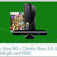 Read more about Microsoft Xbox 360 Console & Games FREE Up To $48 Gift Card Promo 25 Jan - 31 Mar 2014