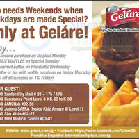 Read more about Gelare Weekday Promotion Offers 8 Jan 2014
