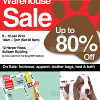 Read more about Hush Puppies Warehouse SALE Up To 80% Off @ Sulisam Building 9 - 12 Jan 2014