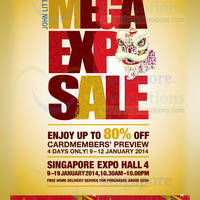 Read more about John Little Mega Expo Sale Up To 80% Off @ Singapore Expo 9 - 19 Jan 2014