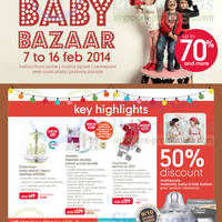 Read more about Mothercare Up To 70% OFF Baby Bazaar SALE @ Selected Outlets 7 - 16 Feb 2014