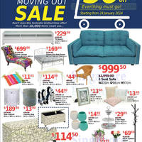 Read more about King & King Wong 50% OFF Storewide Moving Out SALE @ NEX 24 Jan - 16 Feb 2014