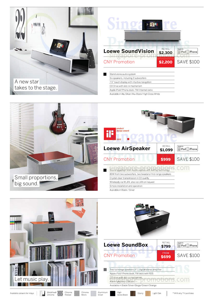 loewe soundvision airspeaker soundbox atlas bose loewe audio visual systems price list 2. Black Bedroom Furniture Sets. Home Design Ideas