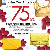Read more about LovethatBag Branded Handbags Sale Up To 75% Off @ Royal Plaza on Scotts 18 Jan 2014