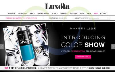 Luxola 27 Jan 2014