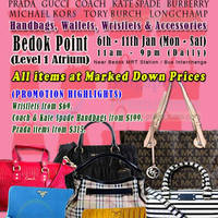 Read more about MyBagEmpire Branded Handbags & Accessories Sale @ Bedok Point 6 - 11 Jan 2014