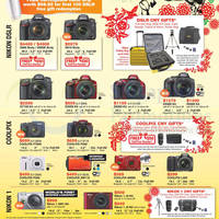 Read more about Nikon Digital Cameras & DSLR Cameras Offers 24 Jan - 23 Feb 2014