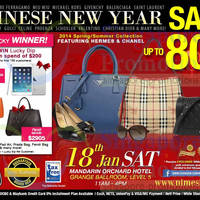 Read more about Nimeshop Branded Handbags Sale Up To 80% Off @ Mandarin Orchard 18 Jan 2014