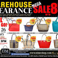 Read more about Nimeshop Branded Handbags Sale Up To 85% Off @ Singapore Expo 25 - 26 Jan 2014