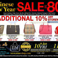 Read more about Nimeshop Branded Handbags Sale Up To 80% Off 10 - 11 Jan 2014